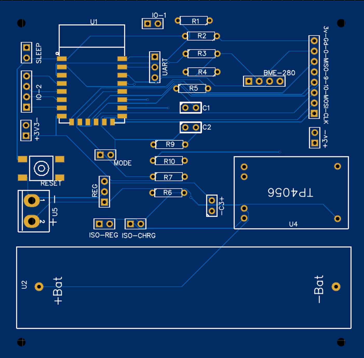 ESP8266 V3 Weather Board